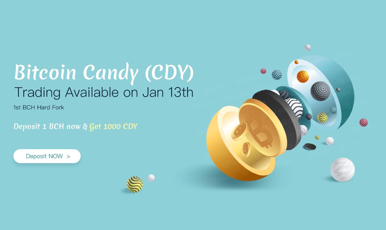 ビットコインキャンディ(CDY)がビットコインキャッシュからHFで誕生
